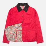 Barbour Elysia Quilt Women's Jacket Red photo- 1