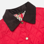Barbour Elysia Quilt Women's Jacket Red photo- 2