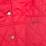 Barbour Elysia Quilt Women's Jacket Red photo- 4