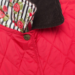 Barbour Elysia Quilt Women's Jacket Red photo- 3