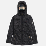 Barbour x Land Rover Clovencrag Quilt Women's Jacket Black photo- 0