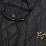 Barbour x Land Rover Clovencrag Quilt Women's Jacket Black photo- 4