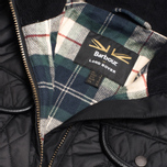 Barbour x Land Rover Clovencrag Quilt Women's Jacket Black photo- 2