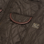 Женская куртка Barbour x Land Rover Clovencrag Quilt Olive фото- 4