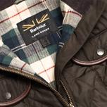 Женская куртка Barbour x Land Rover Clovencrag Quilt Olive фото- 2