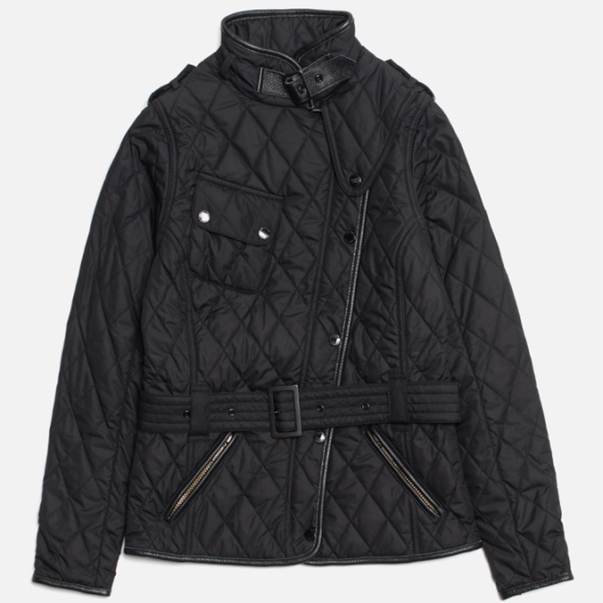 Barbour x Land Rover Lordenshaw Quilt Women's Jacket Black