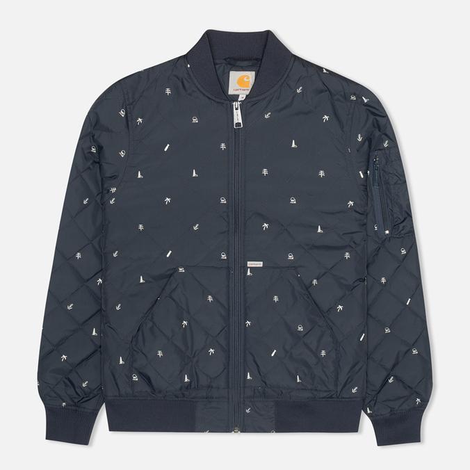 Женская куртка бомбер Carhartt WIP X' Ferris Liner Economy Print Colony/White