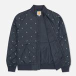 Женская куртка бомбер Carhartt WIP X' Ferris Liner Economy Print Colony/White фото- 1