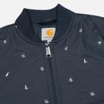 Женская куртка бомбер Carhartt WIP X' Ferris Liner Economy Print Colony/White фото- 2