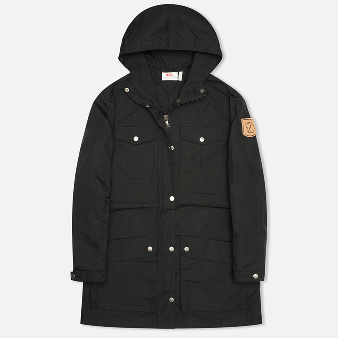 Женская куртка парка Fjallraven Greenland Parka Light Black