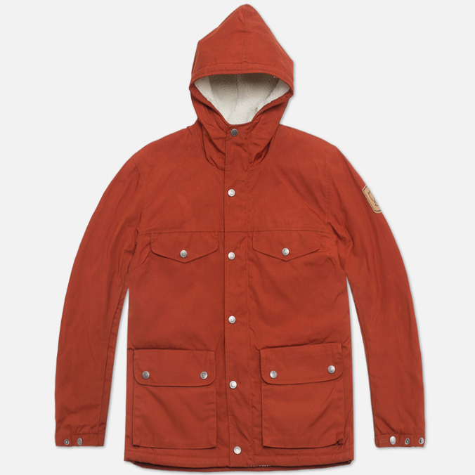 Женская куртка парка Fjallraven Greenland Winter Jacket Autumn Leaf