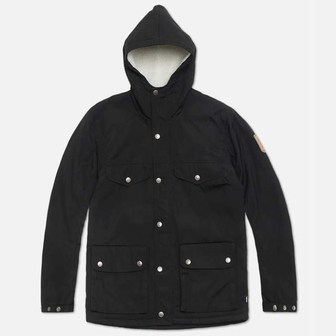 Женская куртка парка Fjallraven Greenland Winter Jacket Black