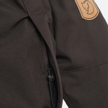 Женская куртка Fjallraven Kyla Parka Black/Brown фото- 4