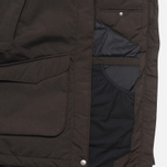 Женская куртка Fjallraven Kyla Parka Black/Brown фото- 5