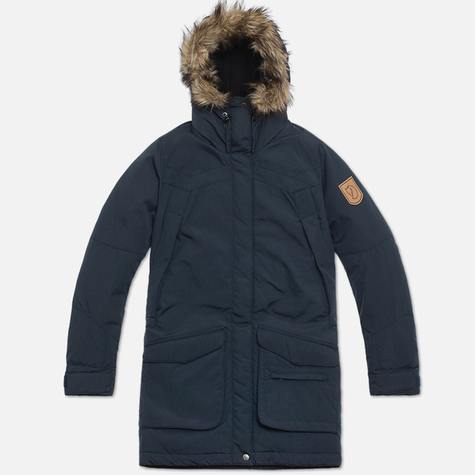 Женская куртка Fjallraven Kyla Parka Dark Navy