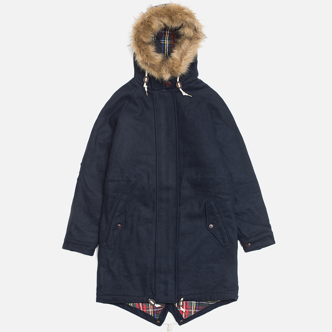 Женская куртка Fred Perry Fishtail Parka Dark Carbon