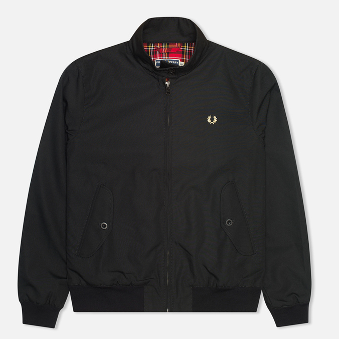 Женская куртка харрингтон Fred Perry Laurel Harrington Black