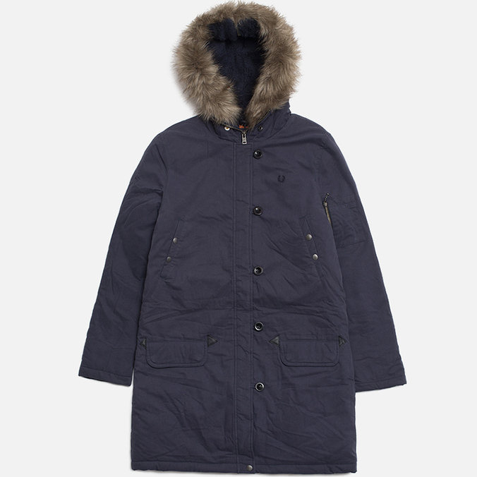Женская куртка Fred Perry Snorkel Parka Dark Airforce