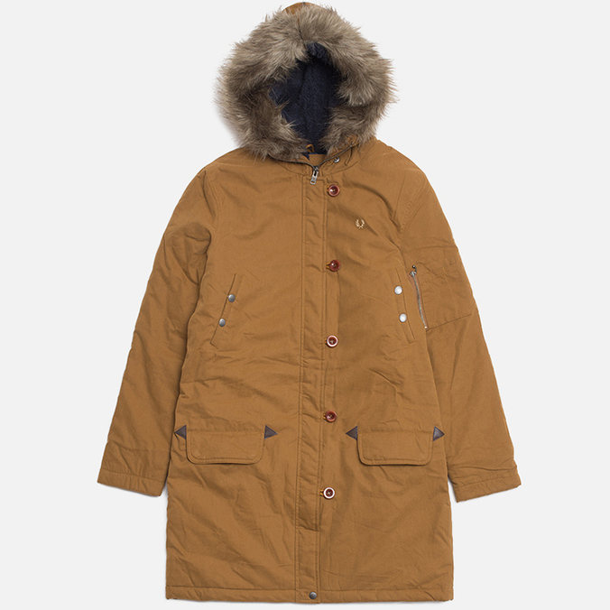 Женская куртка Fred Perry Snorkel Parka Rubber