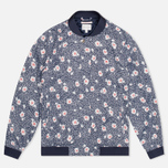 Женская куртка бомбер Gant Rugger Blooming Bomber Evening Blue фото- 0
