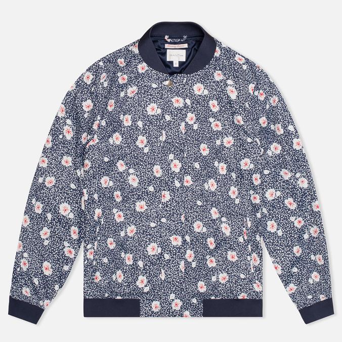 Gant Rugger Blooming Bomber Women's Jacket Evening Blue