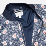 Женская куртка бомбер Gant Rugger Blooming Bomber Evening Blue фото- 2
