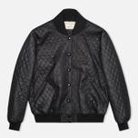 Женская куртка бомбер Maison Kitsune Quilted Teddy Black фото- 0