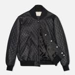 Женская куртка бомбер Maison Kitsune Quilted Teddy Black фото- 1