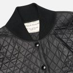 Женская куртка бомбер Maison Kitsune Quilted Teddy Black фото- 2