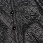 Женская куртка бомбер Maison Kitsune Quilted Teddy Black фото- 5