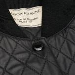 Женская куртка бомбер Maison Kitsune Quilted Teddy Black фото- 3
