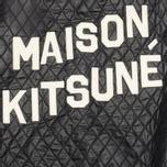 Женская куртка бомбер Maison Kitsune Quilted Teddy Black фото- 4