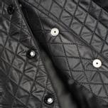 Женская куртка бомбер Maison Kitsune Quilted Teddy Black/Ecru фото- 4