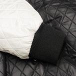 Женская куртка бомбер Maison Kitsune Quilted Teddy Black/Ecru фото- 5