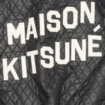 Женская куртка бомбер Maison Kitsune Quilted Teddy Black/Ecru фото- 3