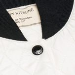 Maison Kitsune Quilted Teddy Women's Jacket Ecru photo- 3
