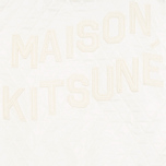 Maison Kitsune Quilted Teddy Women's Jacket Ecru photo- 4