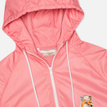 Maison Kitsune Windbreaker Hooded Womens's Jacket Pink photo- 1