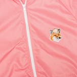 Maison Kitsune Windbreaker Hooded Womens's Jacket Pink photo- 2