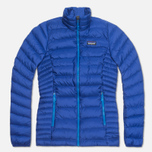Женский пуховик Patagonia Down Sweater Cobalt Blue фото- 0