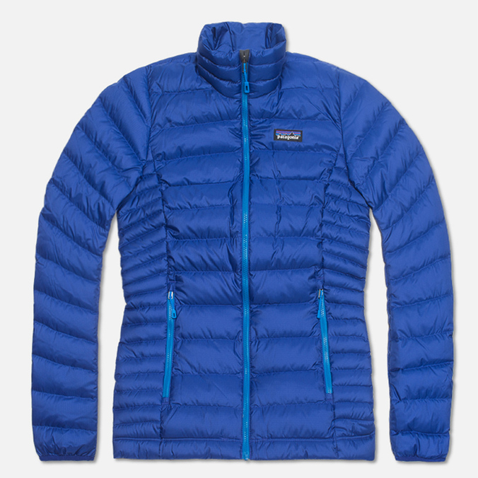 Женский пуховик Patagonia Down Sweater Cobalt Blue
