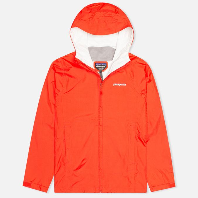 Женская куртка ветровка Patagonia Torrentshell Turkish Red