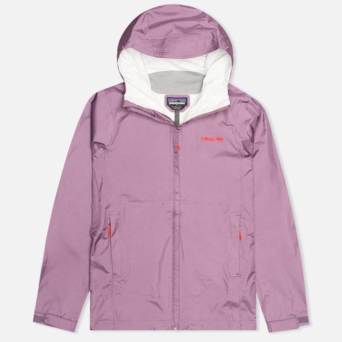 Женская куртка ветровка Patagonia Torrentshell Tyrian Purple