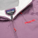 Женская куртка ветровка Patagonia Torrentshell Tyrian Purple фото- 2