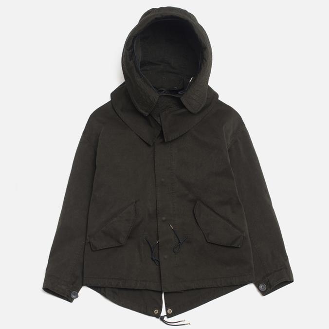 Ten C Short Parka Women's Jacket Olive