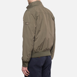 Мужская куртка Woolrich Camou Rev. Shore Waxed Green фото- 4