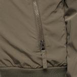 Мужская куртка Woolrich Camou Rev. Shore Waxed Green фото- 9