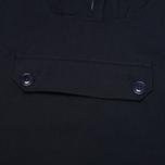 Мужская куртка анорак Woolrich Woolen Mills Anorak Seersucker Navy фото- 3