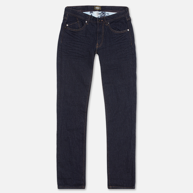 Barbour Comet Slim Rinse & Resin Jeans Navy