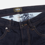 Barbour Comet Slim Rinse & Resin Jeans Navy photo- 2